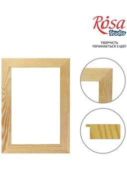 Багетная рама Класик, плоская, клеенная (17*40мм), 40*50 см, ROSA Studio GPK174004050