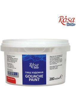 Краска гуашевая, Белила титановые, 280 мл, ROSA Studio 3228901