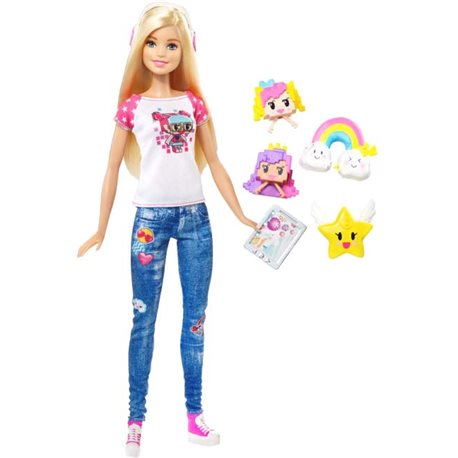 """Фото Барби из реального мира из м / ф """"Barbie: Виртуальный мир"""" DTV96"""