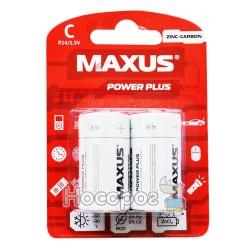 Батарейки MAXUS Zinc-Carbon R14-С-С2