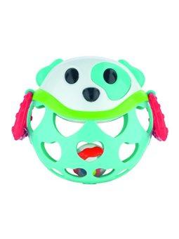 Canpol babies Іграшка з брязкальцем інтерактивна Зелений Ведмедик [79/101_tur]