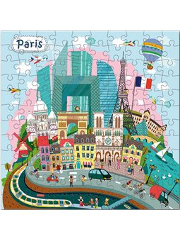 Пазл DoDo Париж 120 елементів [300169]