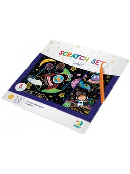 Набор гравюр Dodo Космос цветной картон [300217]