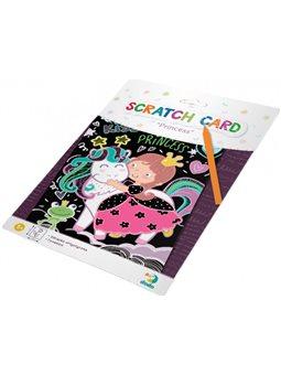Гравюра Dodo Принцесса цветной картон [300192]