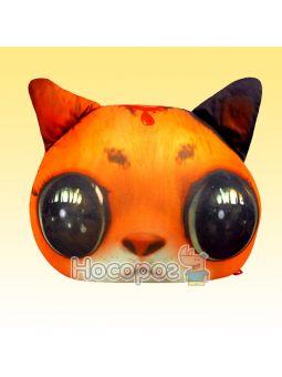 """Антистресова іграшка м'яконабивна """"SOFT TOYS """"Кіт глазастий"""" рудий DT-ST-01-01"""