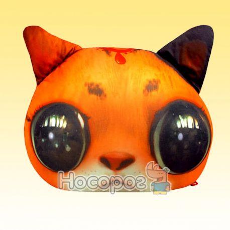 """Антистрессовая игрушка мягконабивная """"SOFT TOYS """"Кот глазастый"""" рыжий DT-ST-01-01"""