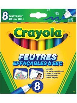 Фломастери Crayola для малювання на дошці [8223]