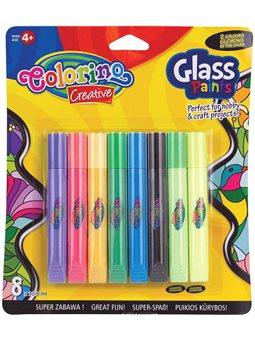 Краски витражные Colorino 10.5 мл 2 цвета светятся в темноте [68949PTR]