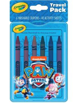 Набір для подорожей Crayola Цуценячий патруль [04-0437]