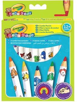 Детские цветные карандаши Crayola Mini kids 8 шт [3678]