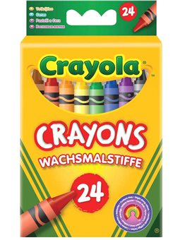 Набір воскової крейди Crayola 24 шт [0024]