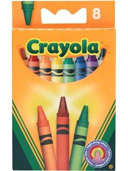 Набор восковых мелков Crayola 8 шт [0008]