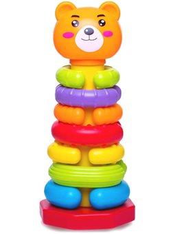 Детская игрушка-пирамидка Оригинальные кольца BeBeLino [57029]