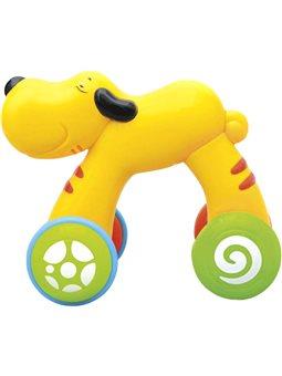 Игрушка BeBeLino Собачка Боб Нажми и езжай [58105]