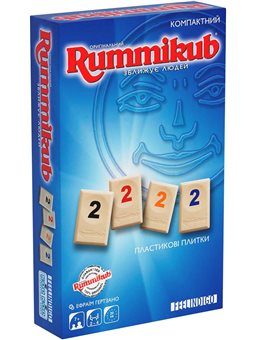 Настільна гра Feelindigo Rummikub mini [FI9500]