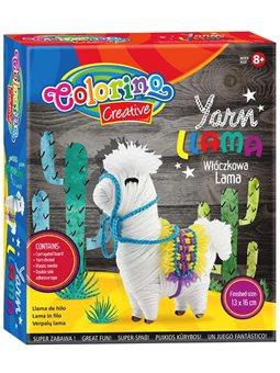 Набор для творчества Colorino Кукла-мотанка Лама [36742PTR]