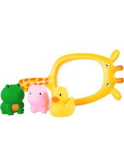 Игрушка для ванны BeBeLino Рыбалка с сачком Жирафом [58116]