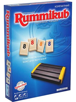 Настольная игра Feelindigo Rummikub NGT travel [FI9680]