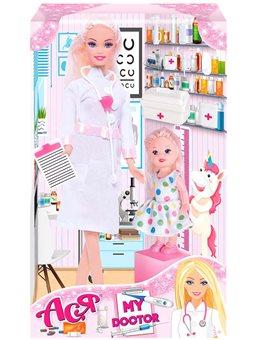 Кукла Ася Мой врач блондинка 28 см [35131]