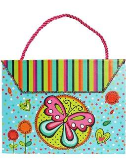 Блокнот-сумочка детский бабочка [SW320602]