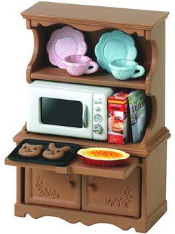 Игровой набор Буфет и микроволновая печь Sylvanian Families [5023]
