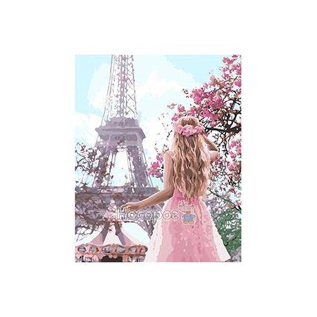 Фото Картина по номерам в коробке Влюблена в Париж КН4568