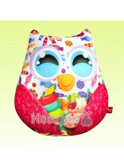 Антистресова іграшка м'яконабивна SOFT TOYS Сова з цукерками DT-ST-01-40