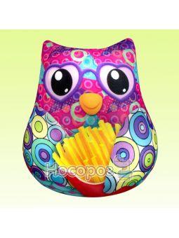 Антистрессовая игрушка мягконабивная SOFT TOYS Сова с картошкой фри DT-ST-01-42