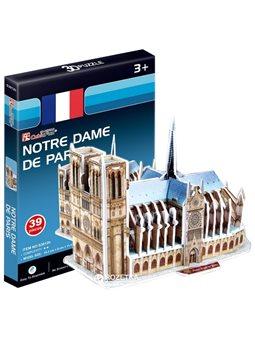 3D пазл CubicFun Собор Парижской Богоматери мини [S3012h]