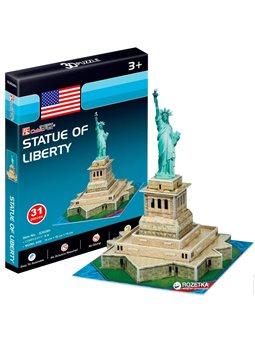 3D пазл CubicFun Статуя Свободы мини [S3026h]
