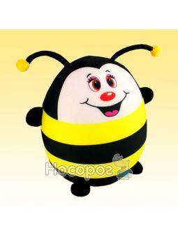 Антистресова іграшка м'яконабивна SOFT TOYS Бджілка DT-ST-01-52