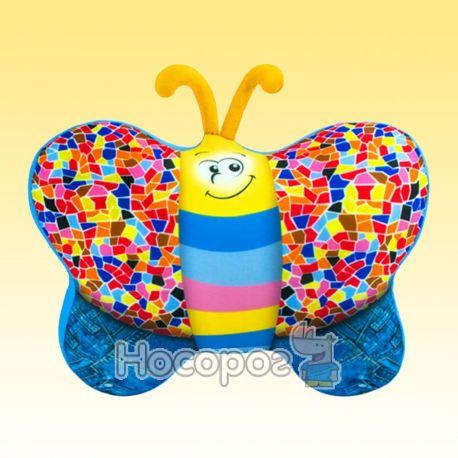 Антистрессовая игрушка мягконабивная SOFT TOYS Бабочка джинсовая DT-ST-01-56