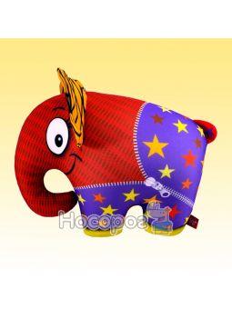 Антистресова іграшка м'яконабивна SOFT TOYS Слон помаранчевий DT-ST-01-60
