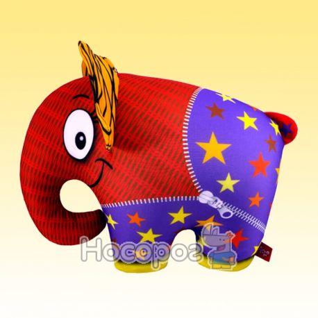 Антистрессовая игрушка мягконабивная SOFT TOYS Слон оранжевый DT-ST-01-60