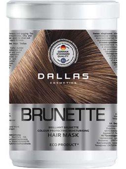 DALLAS BRILLIANT BRUNETTE Увлажняющая маска для защиты цвета темных волос, 1000 мл [723277]