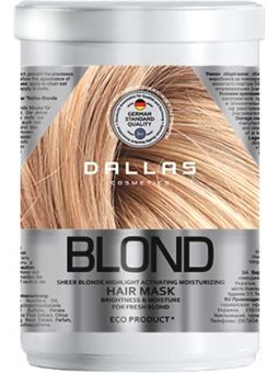 DALLAS BLONDE НIGHLIGHT Увлажняющая маска для светлых волос, 1000 мл [723192]