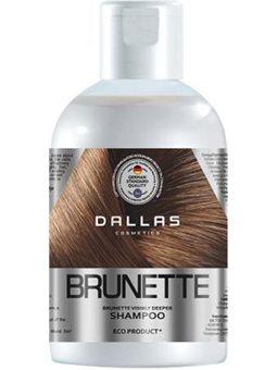 DALLAS BRILLIANT BRUNETTE Зволожуючий шампунь для защиты цвета темных волос, 1000 г [723376]