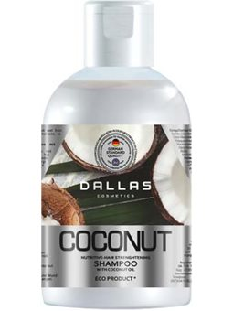 DALLAS COCONUT Интенсивно питательный шампунь с натуральным кокосовым маслом, 1000 г [723307]