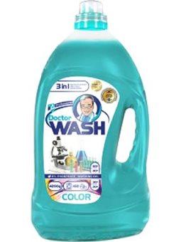 """Гель для стирки """"Doctor Wash"""" для цветных вещей 4.2 л. [720283]"""