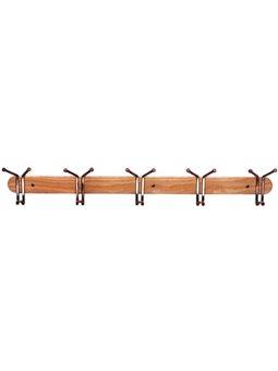 Крючок на деревянной планке 80 * 13см, 0905, Kamille [0905]