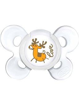Пустышка Physio Сomfort Christmas, силикон, 0-6m (1шт) [55616.00]