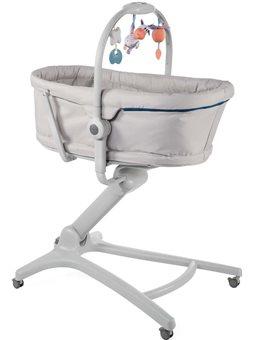 Кровать-стульчик Baby Hug 4 в 1 серый [79173.21]