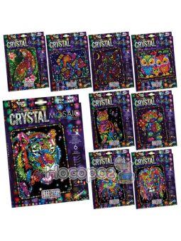 Набір креативної творчості CRYSTAL MOSAIC CRM-01-01,02,03,04