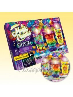 """Набір креативної творчості """"MAGIC CANDLE CRYSTAL""""парафінові свічки своїми руками MgC-02-01 (5)"""