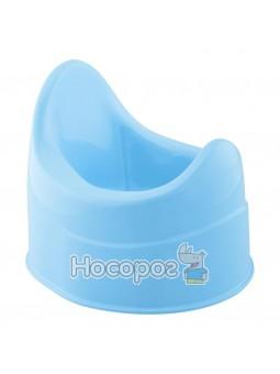 Горшок детский, пластиковый голубой [05932.02]