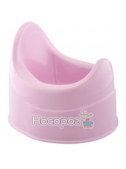 Горшок детский, пластиковый розовый [05932.01]