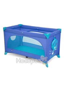 Кроватка-манеж Easy Sleep синий [79087.42]