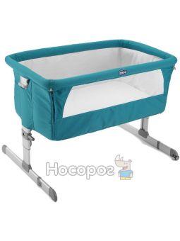 Детская кровать Chicco Next 2 Me салатовый [79339.19]