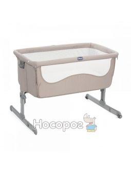 Детская кровать Chicco Next 2 Me светло-бежевый [79339.22]