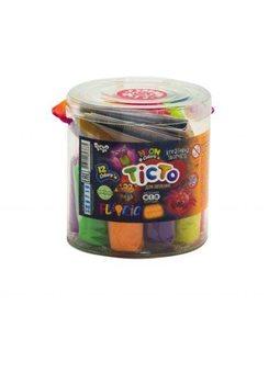 """Набор для лепки """"Fluoric"""", 13 цветов (укр) TMD-FL-12-01U sco"""